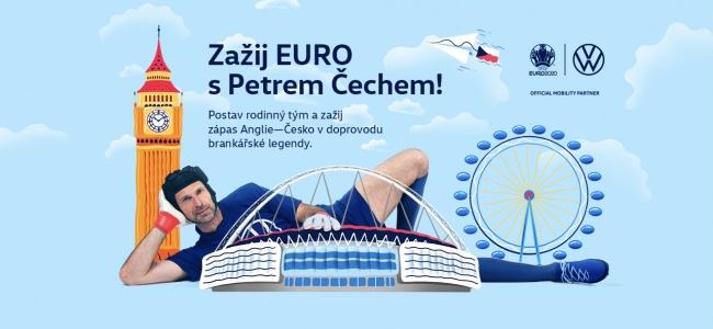 Zažij EURO s Petrem Čechem